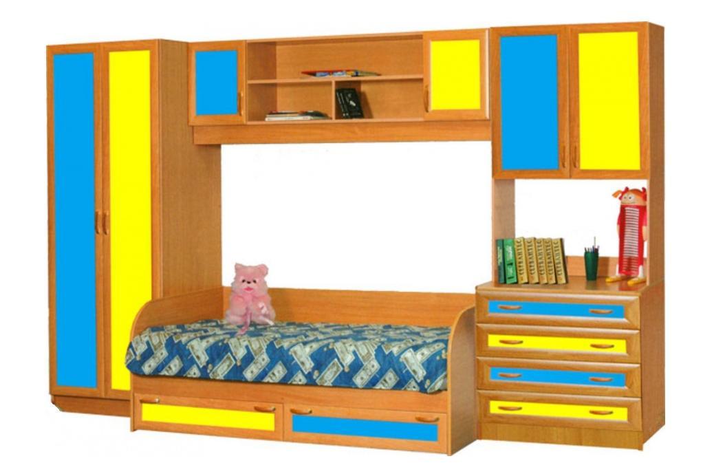 Детская комната Белоснежка-5 МДФ