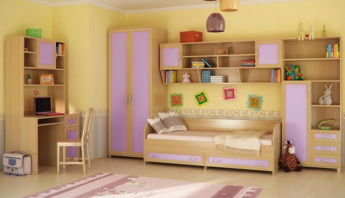 Детская комната КамиллаДетские комнаты<br>Размер: 4430х2110х840/330, Стол: 900х750х600<br><br>Материалы: ЛДСП, кромка ПВХ, рамка МДФ<br>Полный размер: 4430х2110х840/330, Стол: 900х750х600<br>Примечание: Матрас в стоимость не входит<br>Изготовление и доставка: 12-14 дней<br>Условия доставки: Бесплатная по Москве до подъезда<br>Условие оплаты: Оплата наличными при получении товара<br>Подъем на грузовом лифте: 1600 руб.<br>Подъем без лифта: 800 руб./этаж, включая первый<br>Сборка: 10% от стоимости изделия<br>Гарантия: 12 месяцев<br>Производство: Россия<br>Производитель: Континент