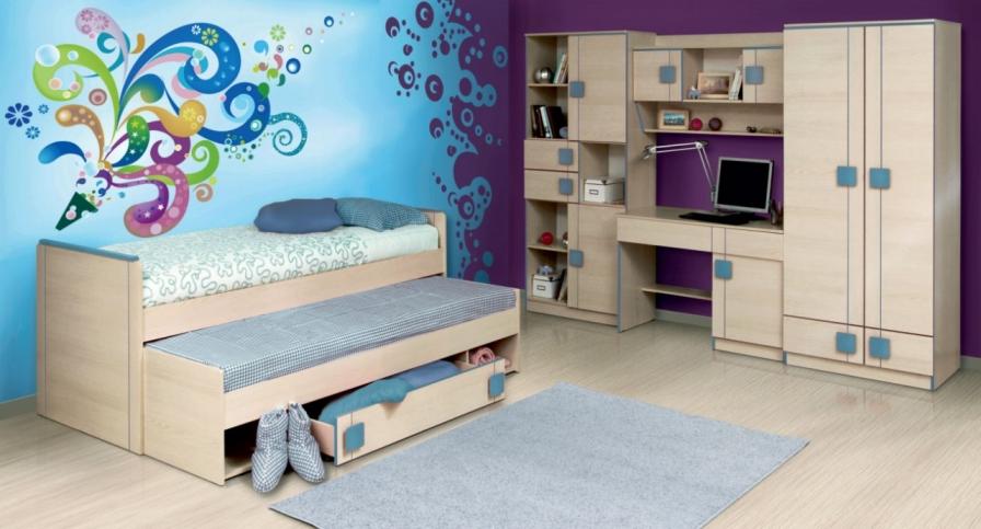 Детская комната Севилья advesta детская комната advesta la man 6 предметов
