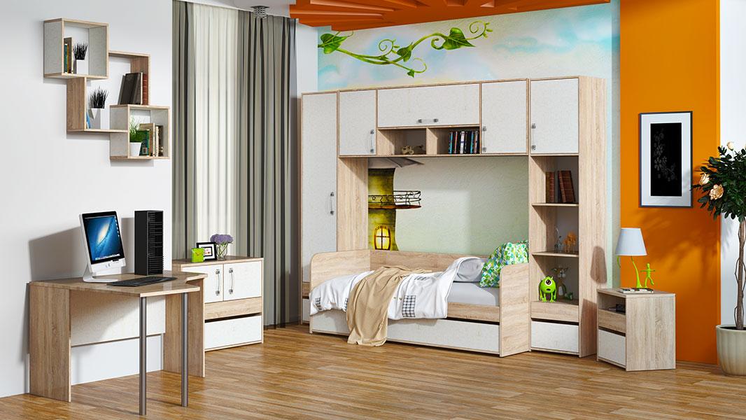 Детская комната Атлас Комплектация №2