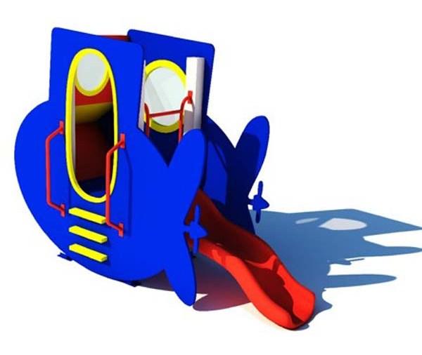 Детская горка ДГС Подводная лодка