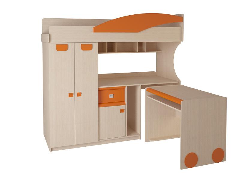 Детская комната №4.4.2 + Стол выкатной