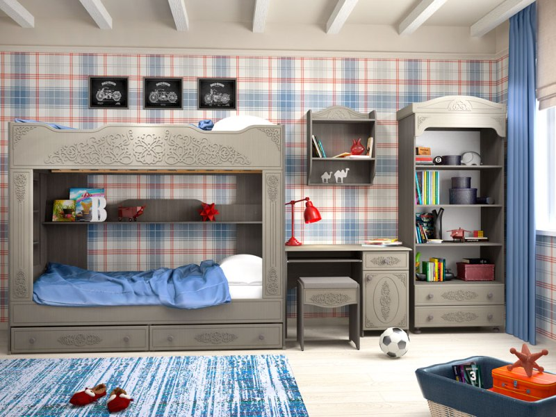 Детская комната Ассоль-3 Плюс advesta детская комната для девочек advesta princess 3 предмета