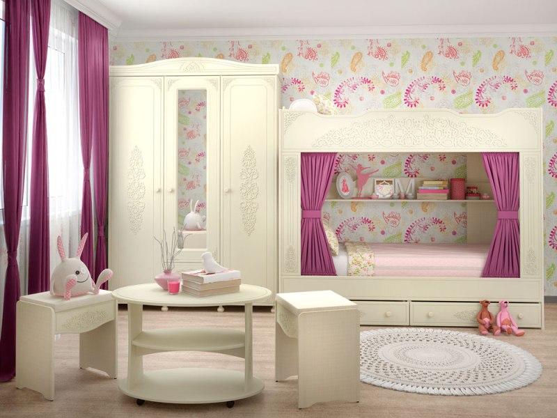 Детская комната Ассоль-2 Плюс детская комната орбита 2
