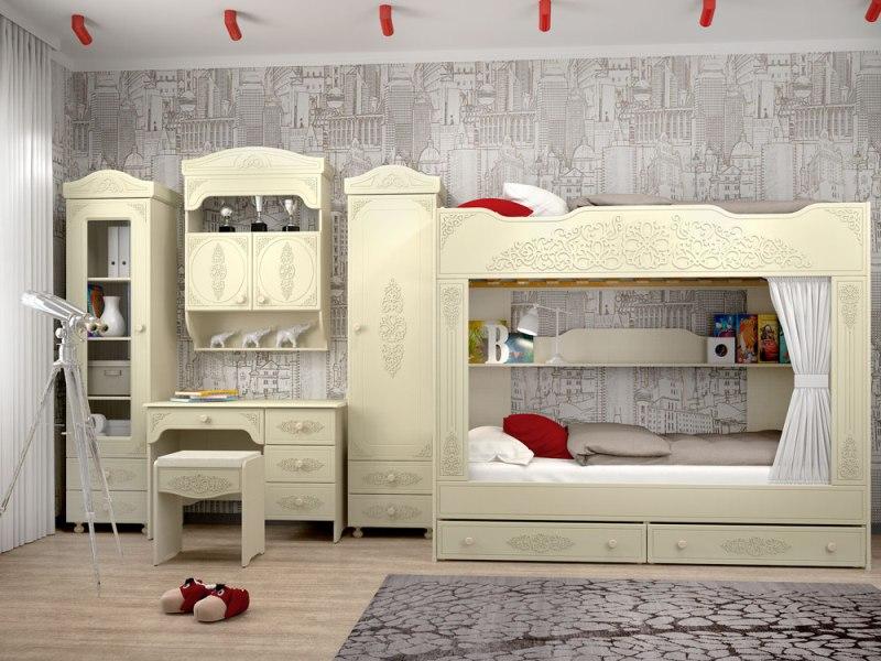 Детская комната Ассоль Плюс прихожая диван ру ассоль