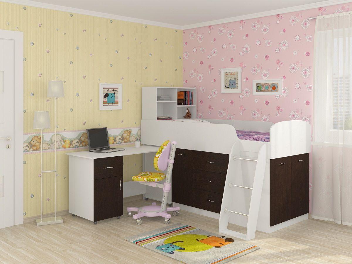 Детская комната Дюймовочка-12