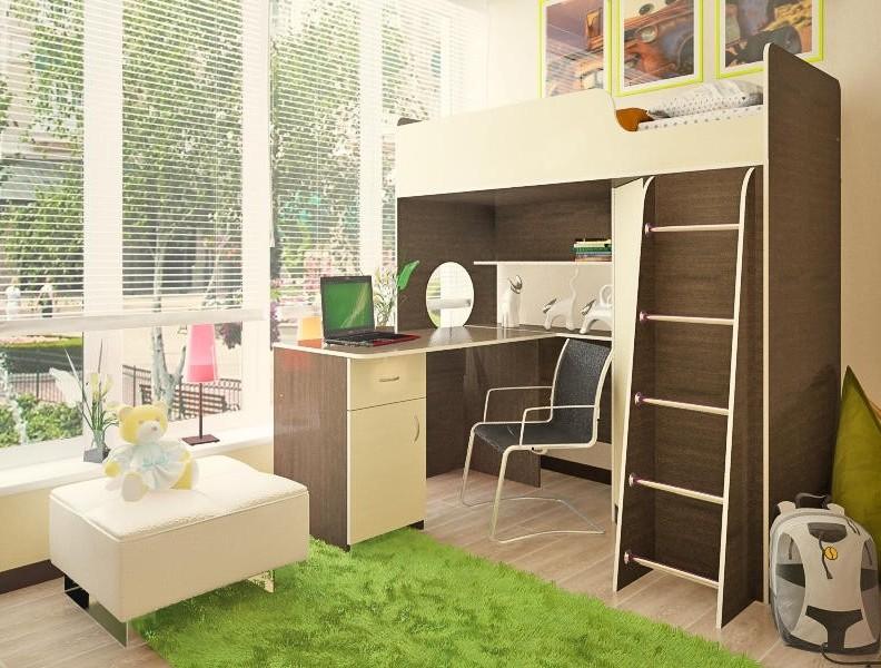 Детская комната Орбита-3 со столиком advesta детская комната advesta champion 3 предмета