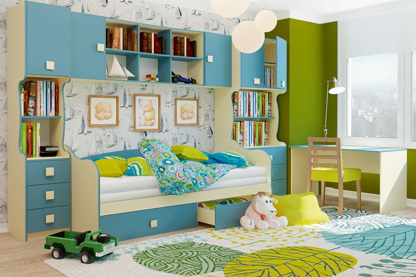 Детская комната Радуга-1