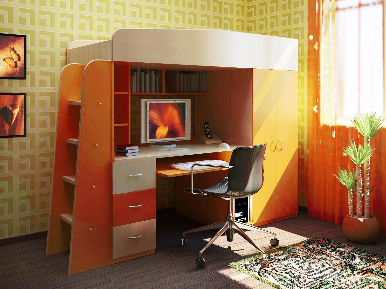 Детская комната Сказка-1 Оrange