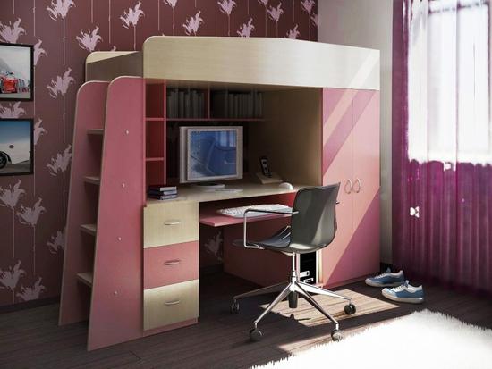 Детская комната Сказка-1 Pink