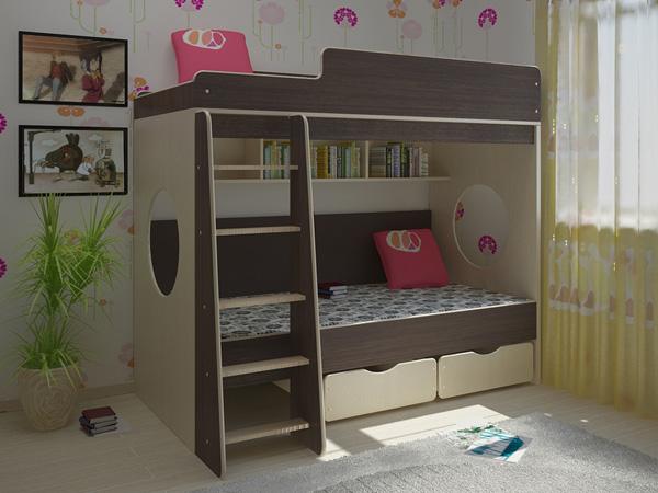 Детская комната Сказка-7 Black and White