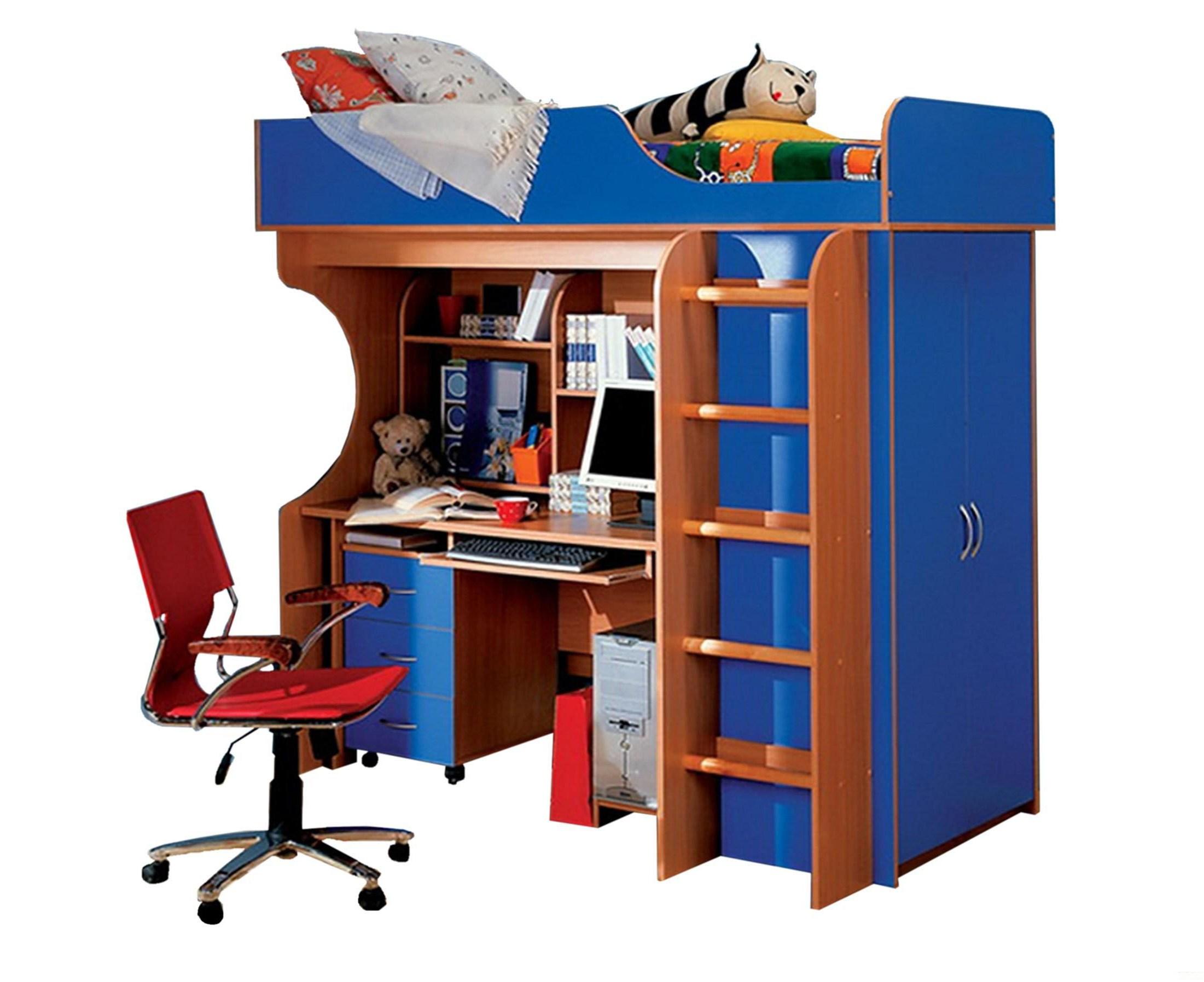 Детская комната Теди детская модульная комната индиго 17