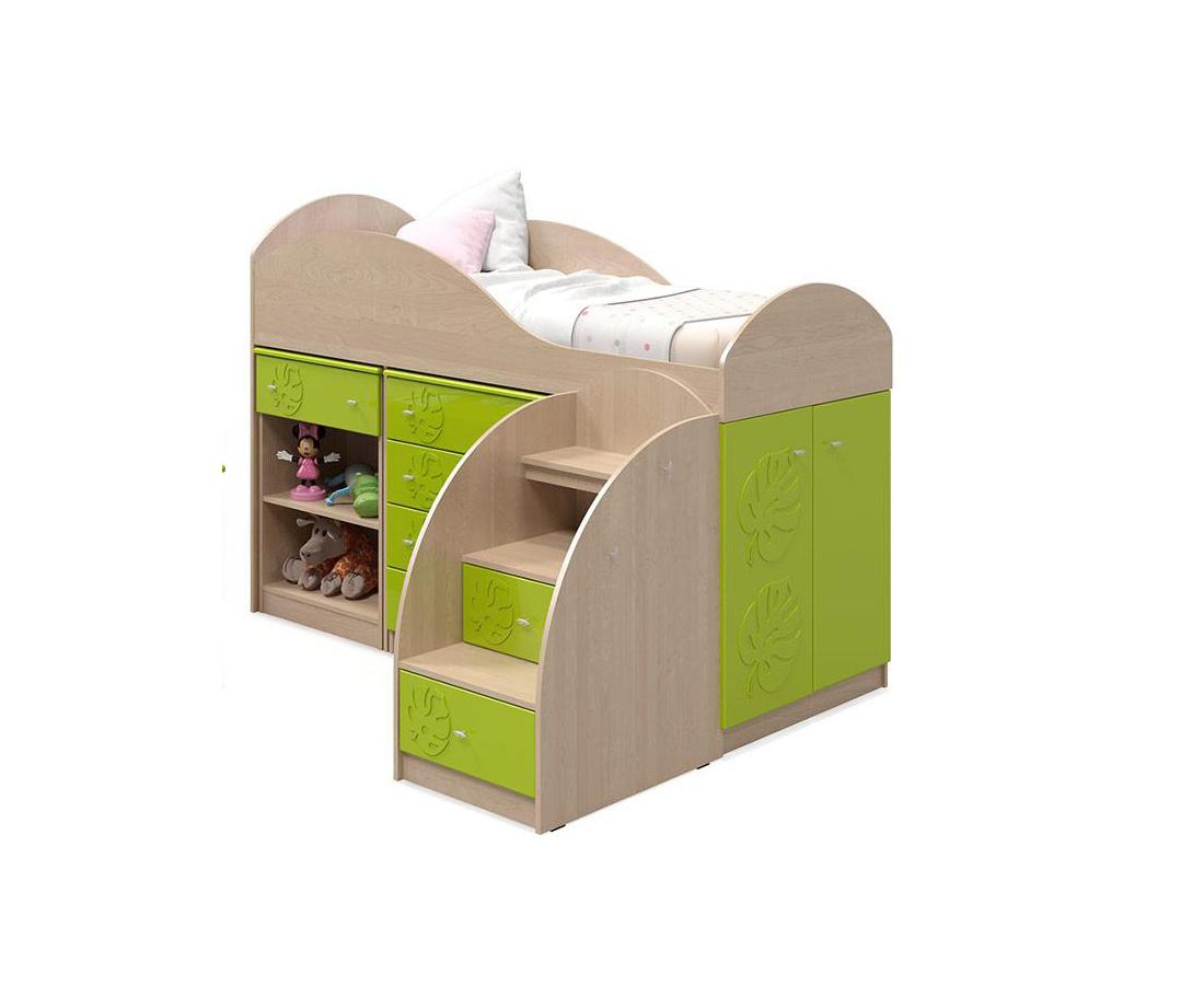 Детская Маугли №7.1 тумба комбинированная компасс мебель соня со 18
