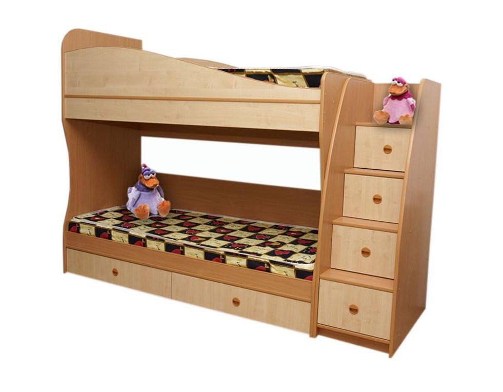Детская Юлия-2Детские кровати<br>Размер: 2480x1800х850<br><br>Материалы: ЛДСП 16 мм, кромка ПВХ 0,4 и 2 мм<br>Полный размер (ДхВхГ): 2282x1800х850<br>Доступны другие размеры: 2482x1800х850<br>Примечание: Доставляется в разобранном виде<br>Изготовление и доставка: 6-10 дней, дни доставок среда и суббота<br>Условия доставки: Бесплатная по Москве до подъезда<br>Условие оплаты: Оплата наличными при получении товара<br>Доставка по МО (за пределами МКАД): 30 руб./км<br>Доставка в пределах ТТК: Доставка в центр Москвы осуществляется ночью, с 22.00 до 6.00 утра<br>Подъем на грузовом лифте: 700 руб.<br>Подъем без лифта: 350 руб./этаж (включая первый)<br>Сборка: 10% от стоимости изделия, но не менее 1,000 руб.<br>Гарантия: 12 месяцев<br>Производство: Россия<br>Производитель: ГРОС