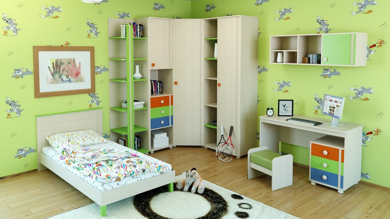Детская комната МДК 4.13 Комплектация №1