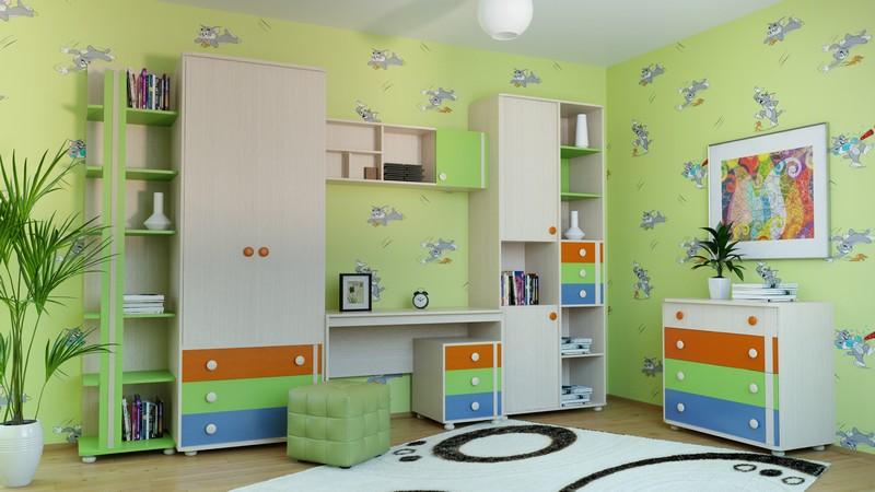 Детская комната МДК 4.13 Комплектация №5 комод mdk