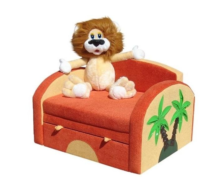 Детский диван Львёнок
