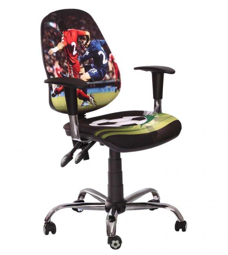 Детское компьютерное кресло Футбол Спорт