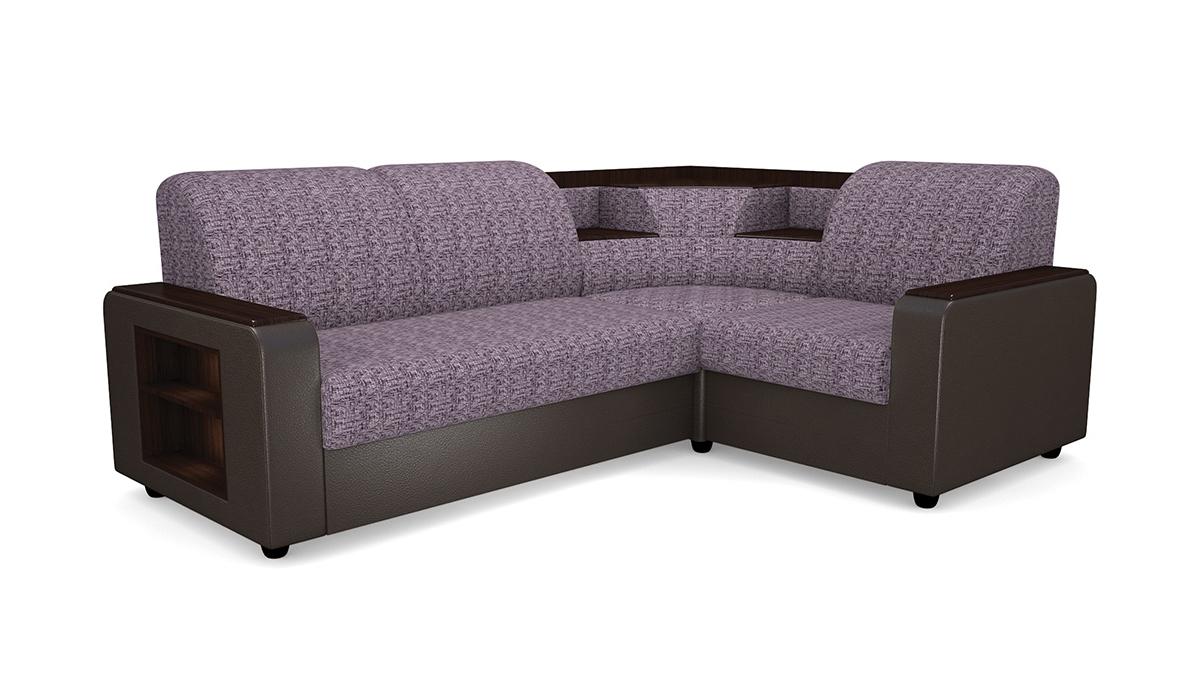 Угловой диван Виза 01-8 с баром