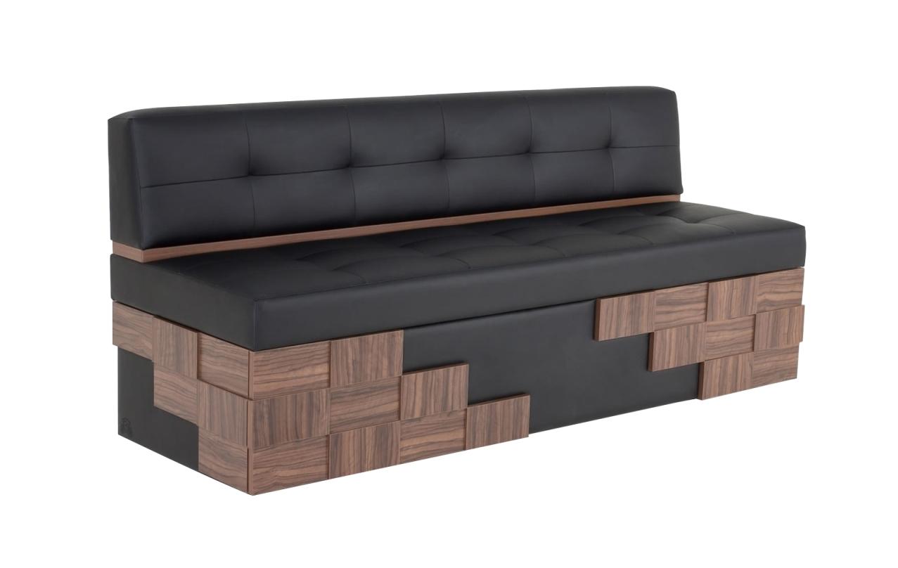 Кухонный диван Редвиг - Galaxy - Black