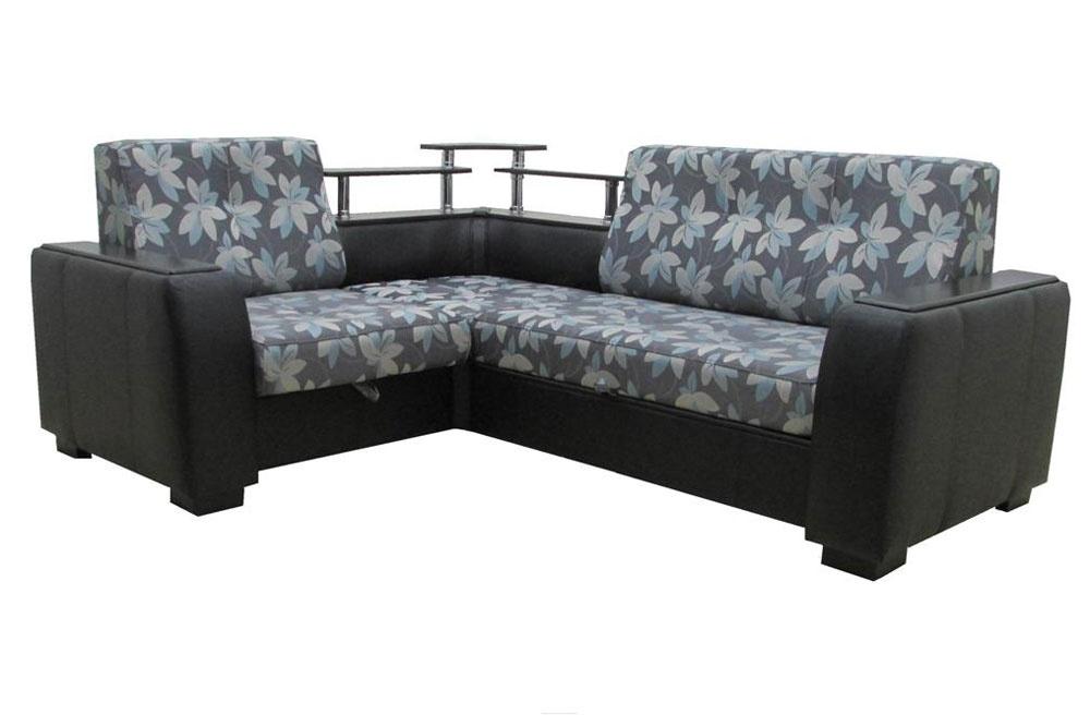 Угловой диван Бостон с полкой