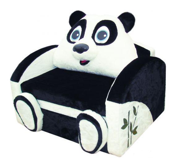 Детский диван Панда Мех
