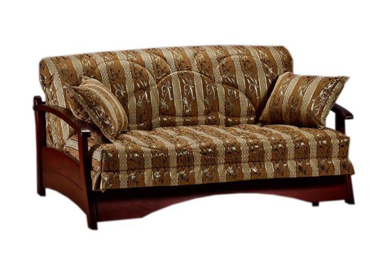 Диван аккордеон Профит с деревянными подлокотниками диван аккордеон брест с деревянными подлокотниками
