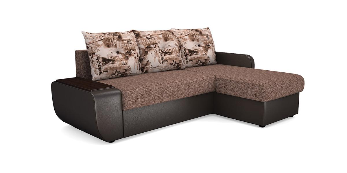 Угловой диван Виза 021 СП трапеция