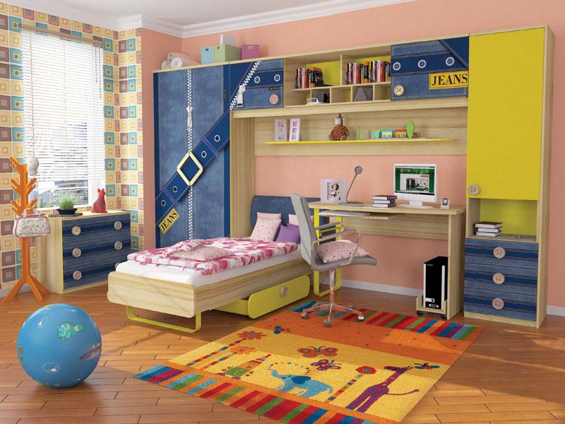 Любимый дом Детская комната Джинс №2