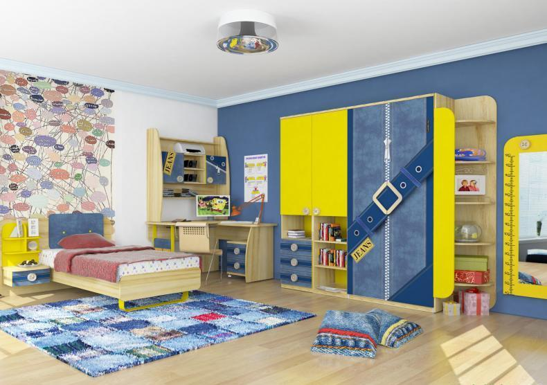 Любимый дом Детская комната Джинс №1