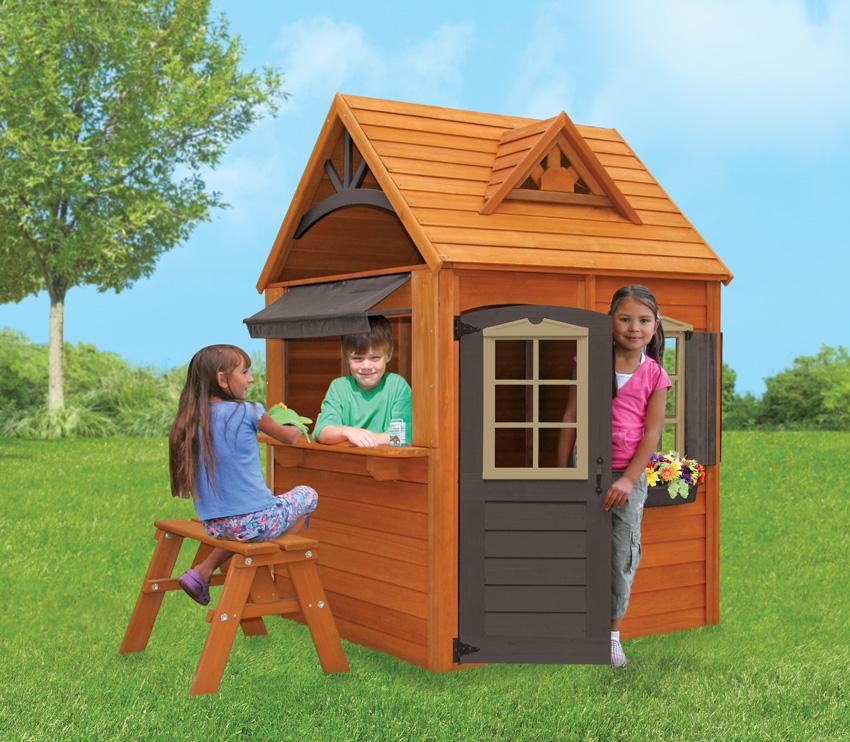 Деревянный домик Каталина Solowave Design