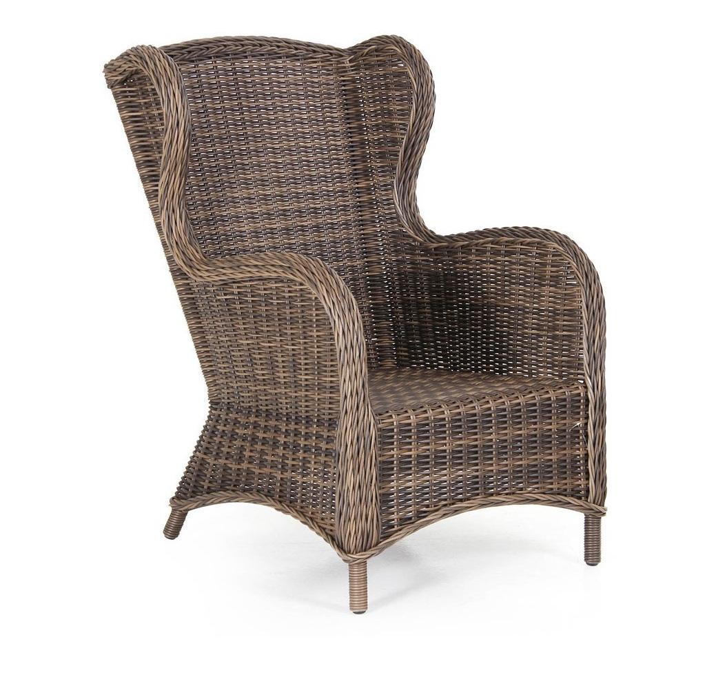 Плетеное кресло Evita brown-2