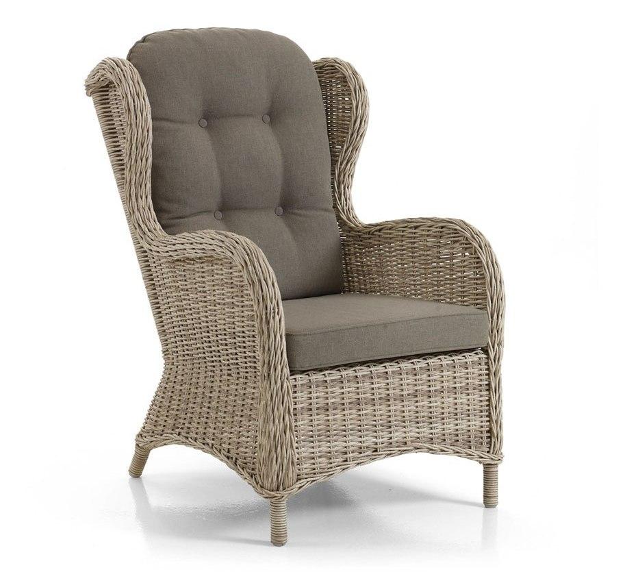 Плетеное кресло Evita beige Brafab