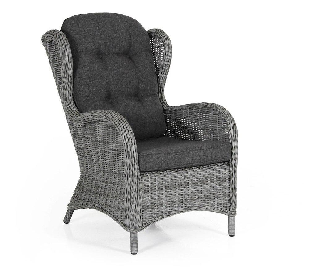 Плетеное кресло Evita grey Brafab