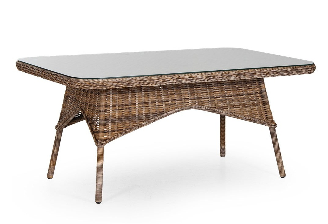 где купить  Плетеный стол Evita brown  по лучшей цене