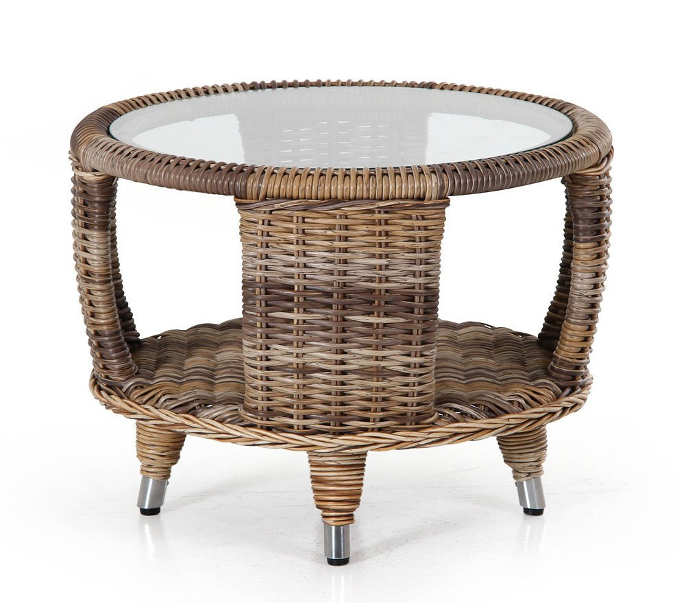 Плетеный стол Evita-Silva brown