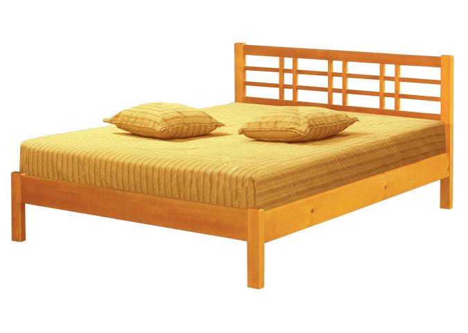 Деревянная кровать Европейская-1 деревянная кровать европейская