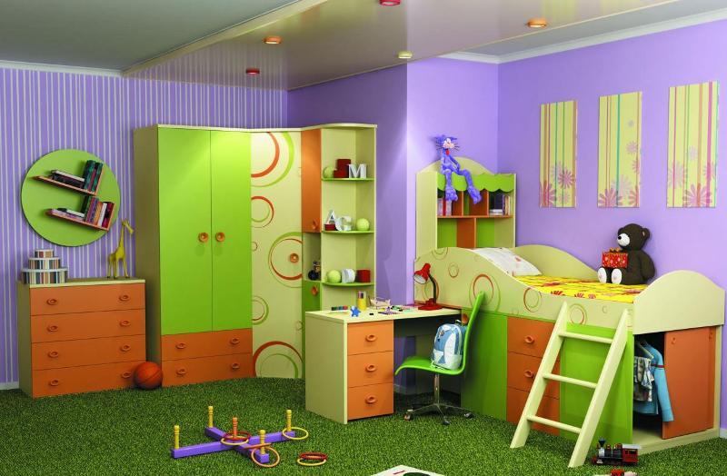 Любимый дом Детская комната Фруттис