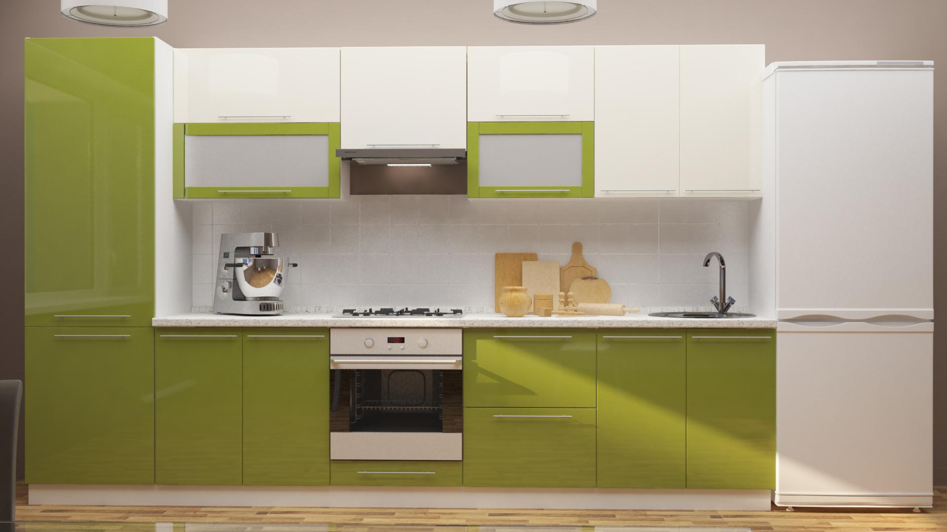 Модульный кухонный гарнитур Оливия кухонный гарнитур трия оливия 240 см