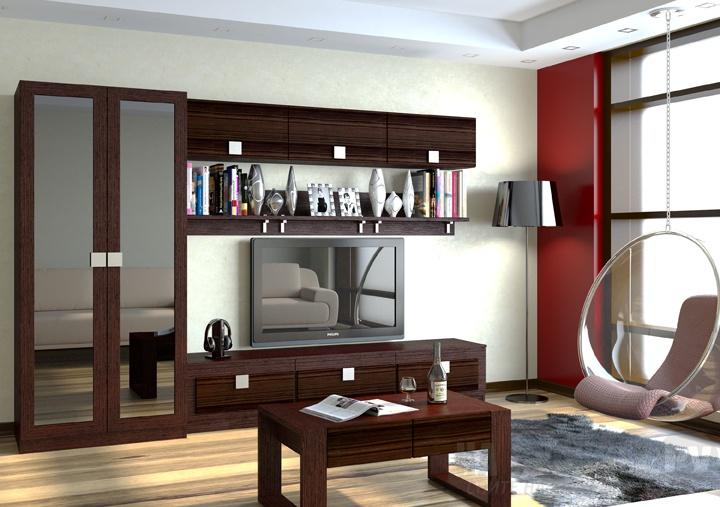 Модульная гостиная Александрия-1 модульная спальня александрия вариант 2