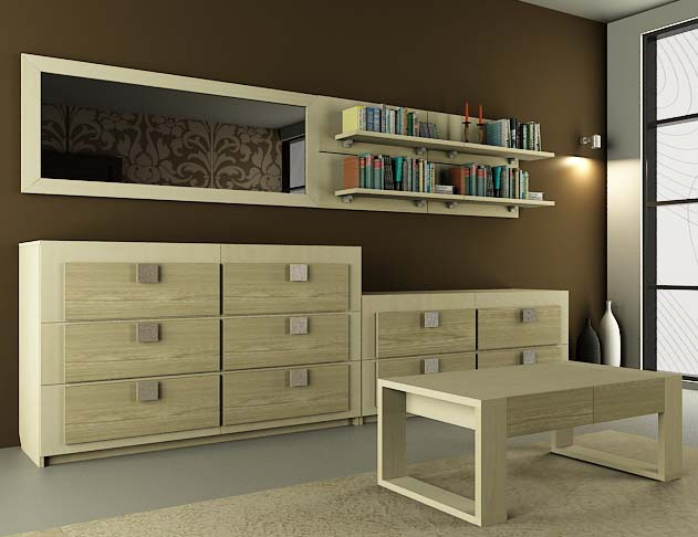Модульная гостиная Александрия-2 модульная спальня александрия вариант 2