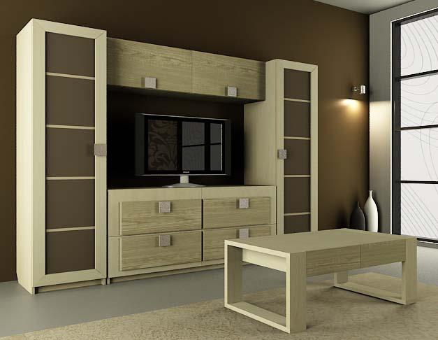 Модульная гостиная Александрия-3 модульная спальня александрия вариант 2