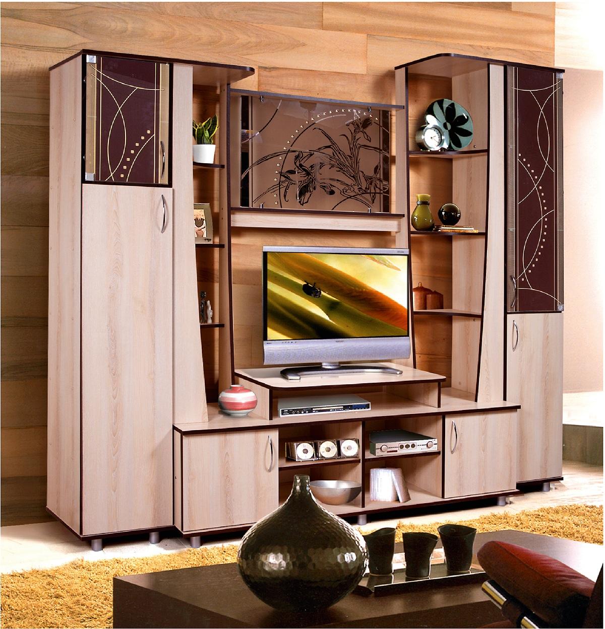 Гостиная Орфей-4 0152 комплект мебели орфей хит