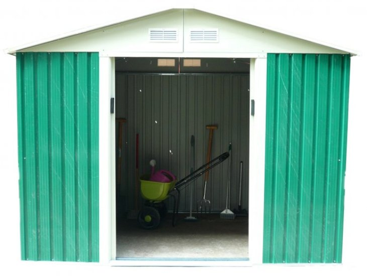 Хозблок Серия S S1001D Greenstorage садовый хозблок в спб