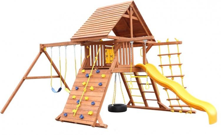 Деревянная площадка для детей Original Castle Playgarden