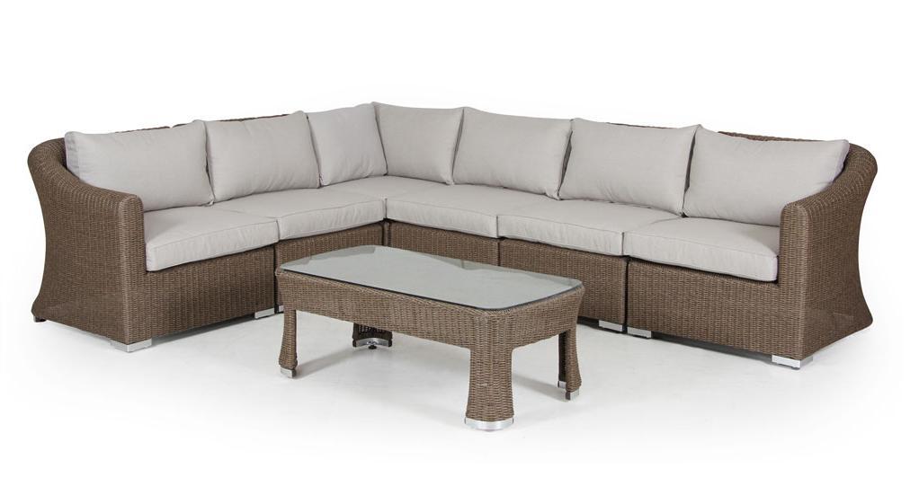 Комплект плетеной мебели INDRA Brafab