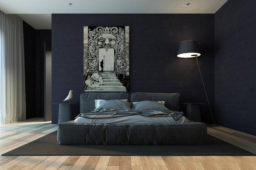 Интерьерная кровать Латона-3