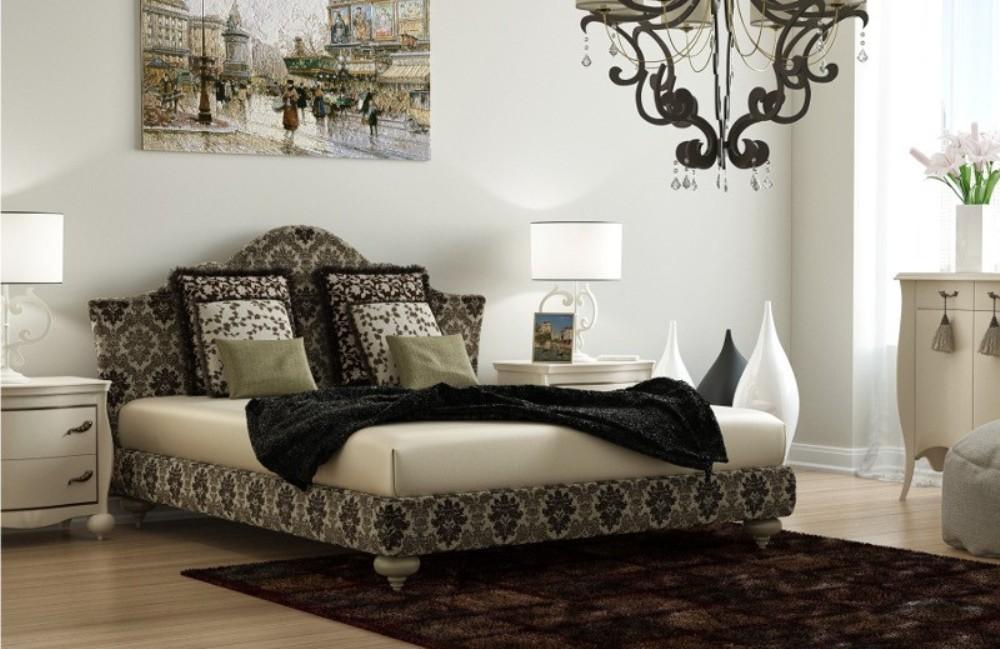 Интерьерная кровать Тривия