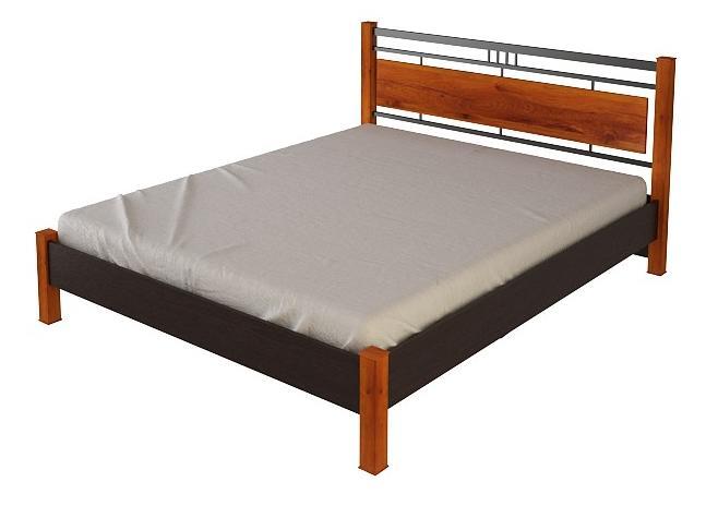 Кровать №22.1 (серия МК28)Кровати<br>Размер: 168,7х208,2 В96,2<br><br>Материалы: ЛДСП, кромка ПВХ<br>Полный размер: 168,7х208,2 В96,2<br>Спальное место: 160х200<br>Вес товара (кг): 120<br>Комплектация: Матрас в стоимость не входит<br>Цвет: По фото: Венге/Дуб сокальский<br>Примечание: Доставляется в разобранном виде<br>Изготовление и доставка: 10-14 дней<br>Условия доставки: Бесплатная по Москве до подъезда<br>Условие оплаты: Оплата наличными при получении товара<br>Подъем на грузовом лифте: 500 руб<br>Подъем без лифта: 250 руб./этаж включая первый<br>Сборка: 10% от стоимости изделия<br>Гарантия: 12 месяцев<br>Производство: Россия<br>Производитель: Корвет