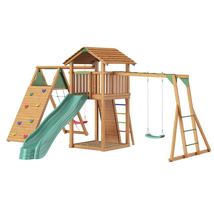Городок Jungle Cottage+Climb Module X